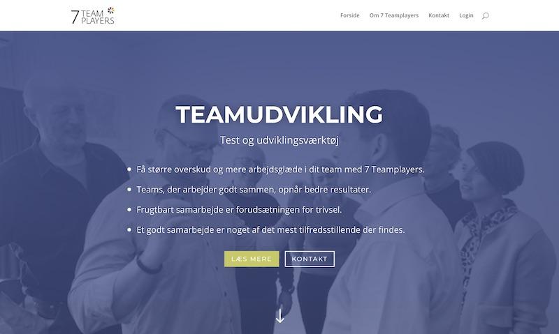 Website 7teamplayers.com